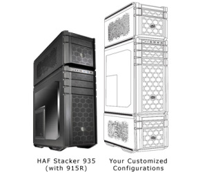 Cooler Master announces HAF Stacker 'mod-tower'