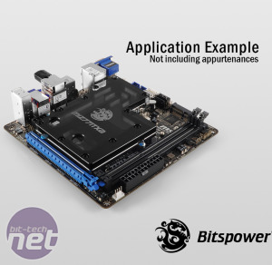 Bitspower releases MSI Z77IA-E53 full cover waterblock *Bitspower releases MSI Z77IA-E53 full cover waterblock