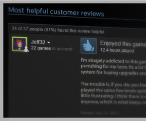 Valve launches Steam user reviews