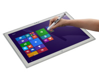 "Panasonic unveils 20"" 4K tablet PC"