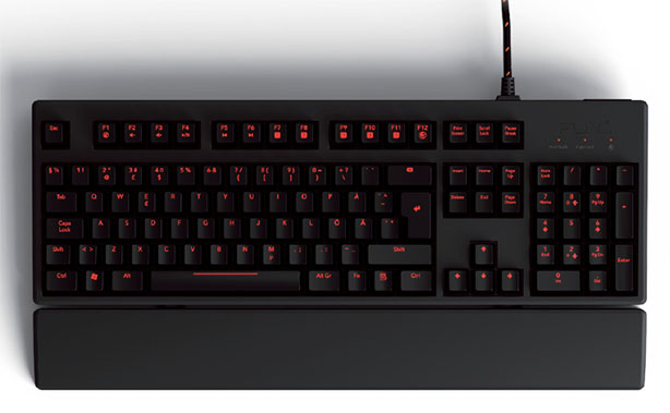Func KB-460 gaming keyboard announced