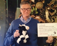 Lucky Reddit reader gets Bill Gates for Secret Santa