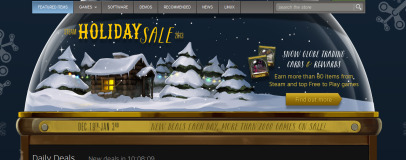 Steam Holiday Sale launches