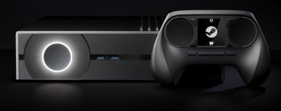 SteamOS, Steam Machine and Controller shown in video