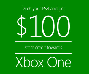 Microsoft offering store credit bounty on PS3s