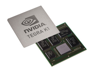 Nvidia announces Tegra K1 Kepler-based SoC