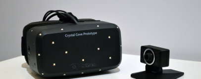 Oculus Rift Crystal Cove brings improved tracking and OLED displays