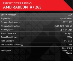 AMD R7 265 is new $149 champion