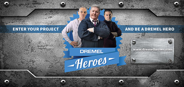 Dremel Searches For UK Heroes