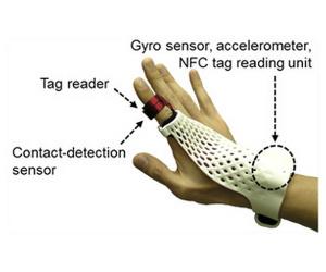 Fujitsu demos glove-style controller