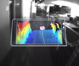 Google unveils depth-sensing Project Tango phone
