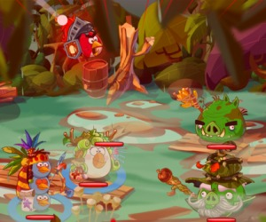 Angry Birds becoming turn-based RPG