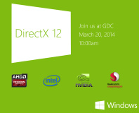 DirectX 12 to launch at GDC this month