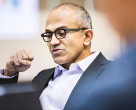 Microsoft CEO Nadella begins executive shake-up