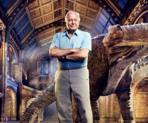 Attenborough working on a documentary for the Oculus Rift