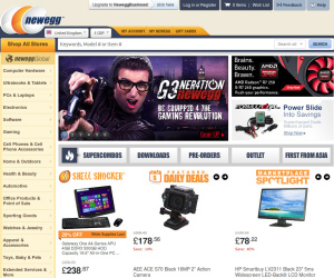 Newegg goes live in the UK