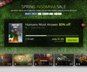 GOG launches spring Insomnia sale