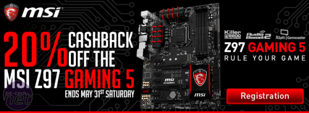 MSI UK Offering Free Corsair H75 Cooler And Cashback With Z97 Gaming Boards MSI UK Offering Free Corsair Cooler And Cashback With Z97 Gaming Boards