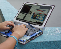 Novena open laptop smashes crowd-funding goal