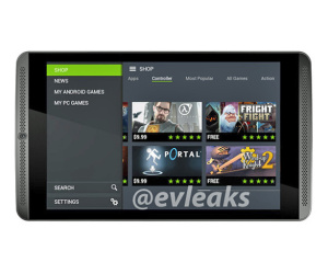 Nvidia Shield Tablet leaks ahead of launch