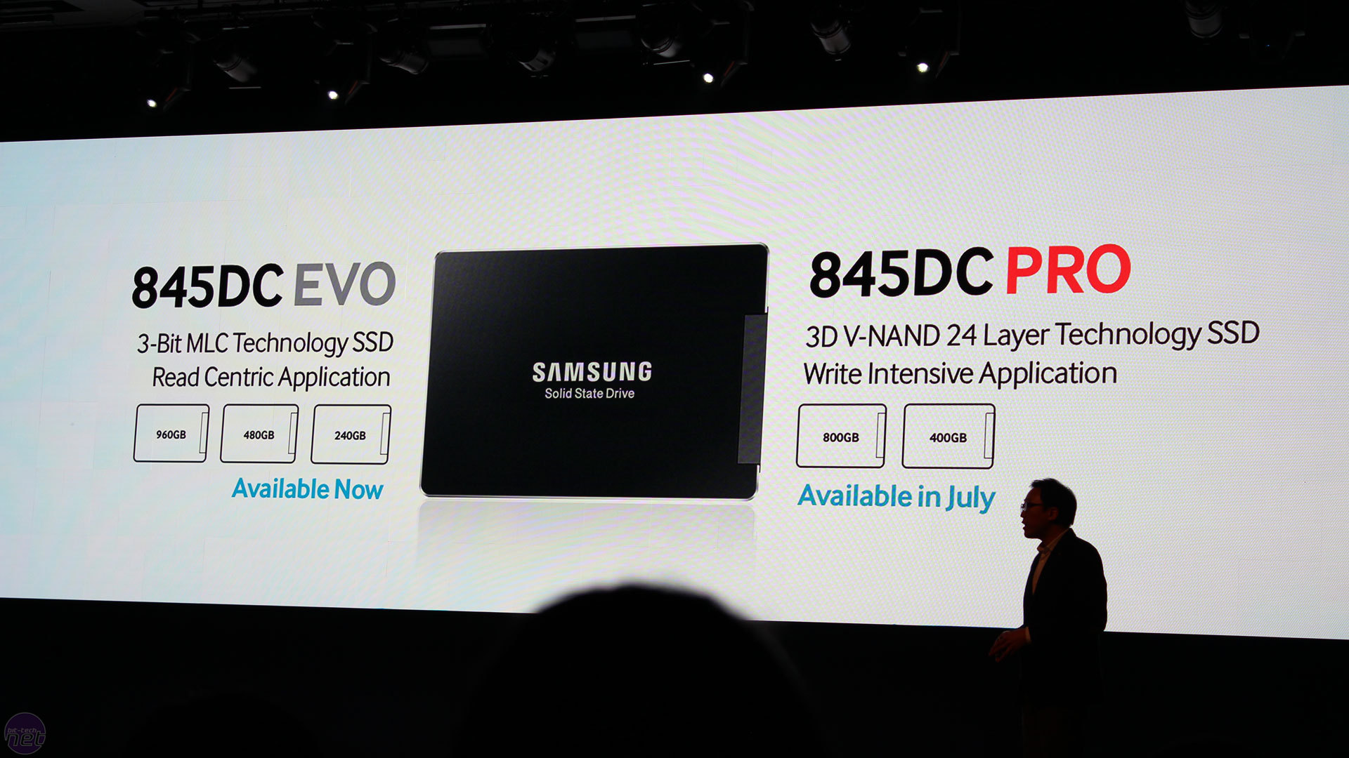 Samsung launches SSD 845DC PRO with 3D V-NAND | bit-tech.net