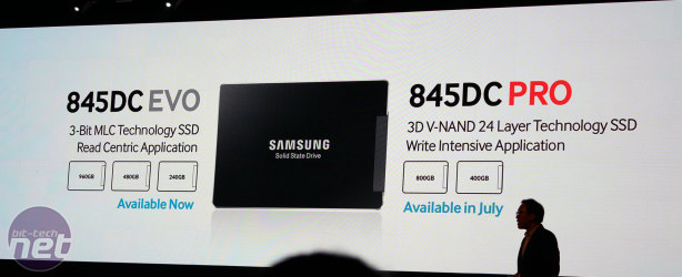 Samsung launches SSD 845DC PRO with 3D V-NAND *Samsung launches SSD 845DC PRO with 3D V-NAND