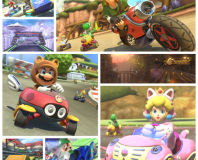 Link, Animal Crossing and F-Zero joining Mario Kart 8
