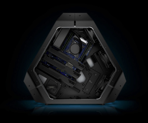 Alienware unveils hexagonal Area-51 Triad