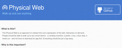 Google launches Physical Web standard