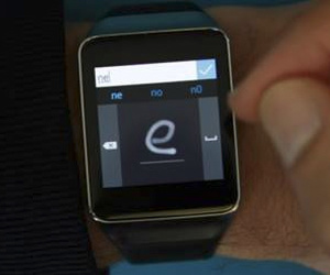 Microsoft demos smartwatch autography recognition