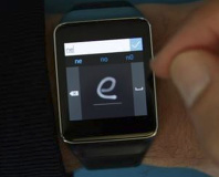 Microsoft demos smartwatch handwriting recognition