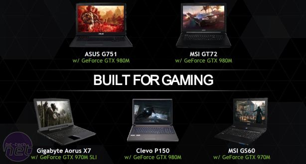 Nvidia releases GTX 980M and GTX 970M notebook GPUs