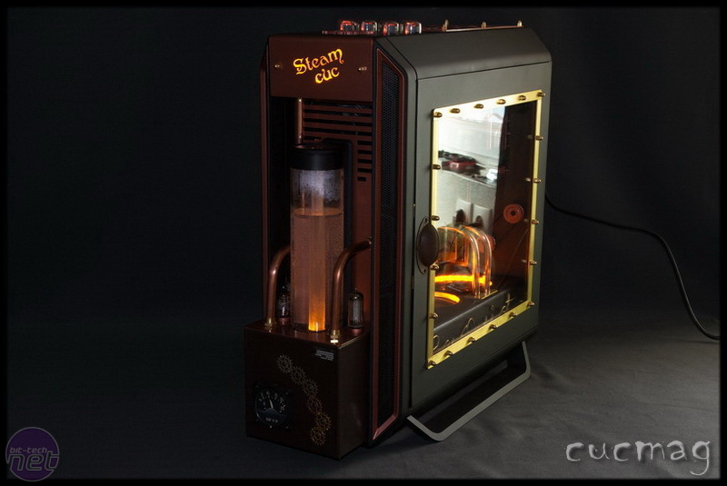 Steampunk Case Mod Completed Using Bequiet S New Pc Case
