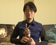 Hideo Kojima receives Cinematography in Videogames award