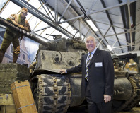 Tank Museum, Wargaming and Murray Walker open Fury exhibit