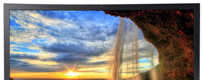 Samsung announces curved all-in-one, high-res portable
