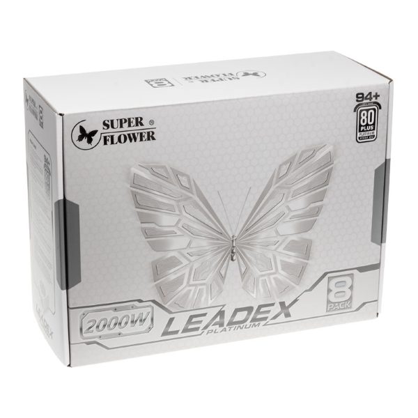 8Pack and Super Flower release first exclusive 2000W PSU