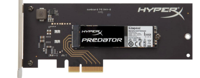 Kingston to launch 1.4GB/s HyperX Predator PCIe SSDs