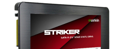 "Mushkin announces high-speed Striker 2.5"" SSDs"