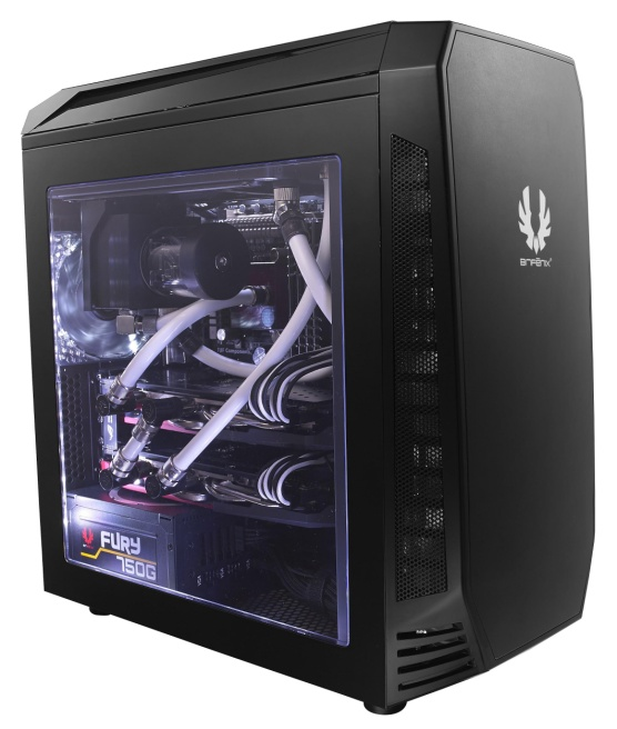 Designed for watercooling in mind, the BitFenix Aegis case is revealed, featuring the BitFenix ICON