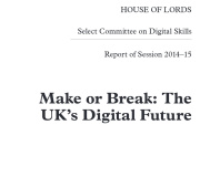 Lords highlight the need for digital literacy