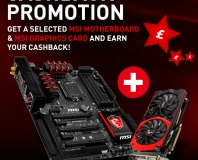 MSI offers cashback for buyers of VGA and mobo combos