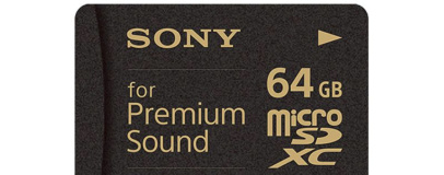 Sony launches high-price micro-SD 'for Premium Sound'