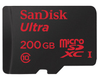 SanDisk unveils 200GB micro-SD card