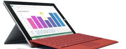 Microsoft unveils Surface 3 tablet family