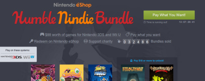 Nintendo Humble Bundle launches with region restrictions