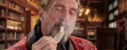 John McAfee announces US presidential bid