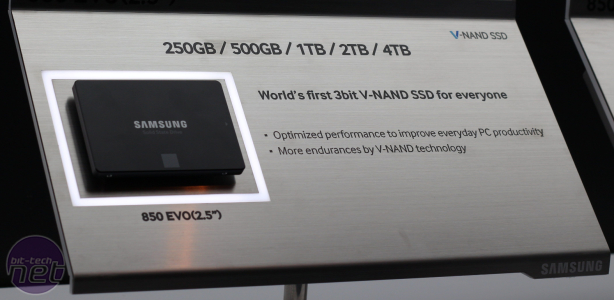Samsung confirms 4TB SSD 850 PRO and SSD 850 EVO