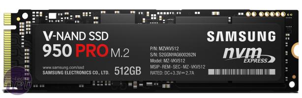 Samsung reveals 950 PRO SSD
