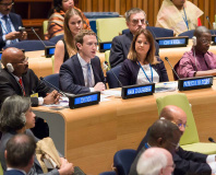 Zuckerberg calls on UN to Connect The World